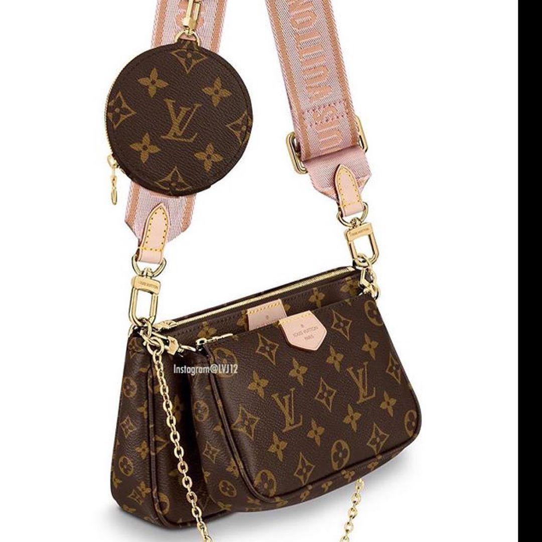 Mac Stush On Instagram Louisvuitton Multi Pochette For Lvfw19 Launcjes September 2019 Photos By Lvj12 For More D Luis Vuitton Bag Louis Vuitton Vuitton