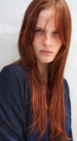 redhead - Anna Kiseleva