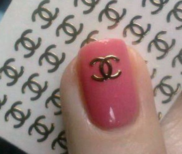 Chanel Nail Decals Stickers From Bless Sed