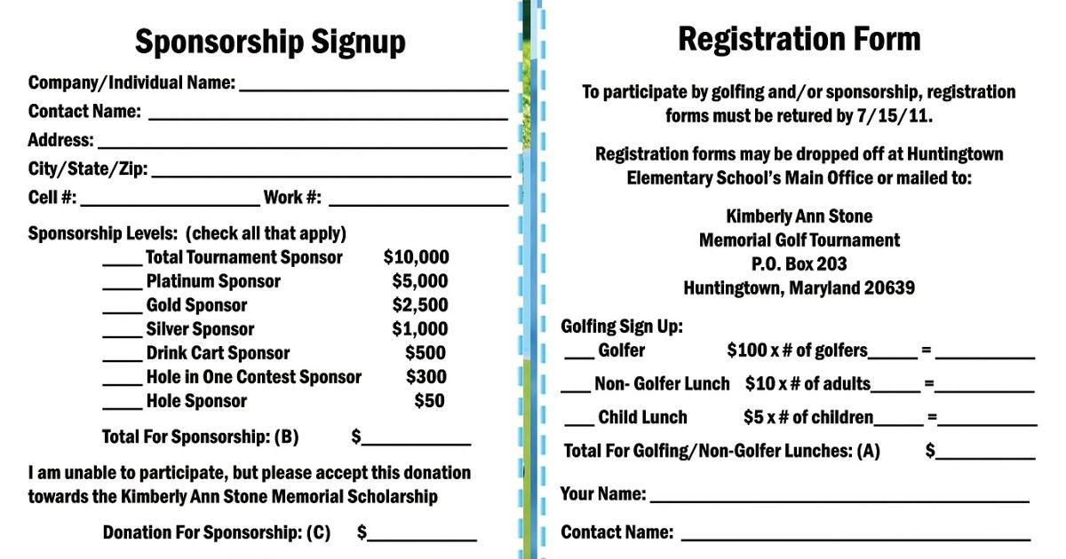Registration Form Registration form, Elementary schools