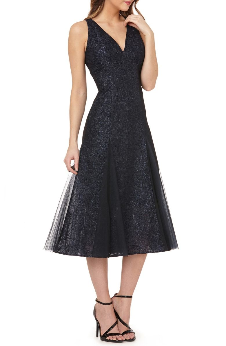 nordstrom tea length cocktail dresses