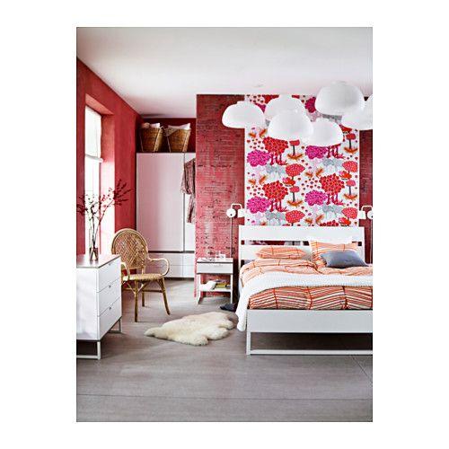 trysil cadre de lit 140x200 cm ikea id es pour appart pinterest lit 140x200 lit et. Black Bedroom Furniture Sets. Home Design Ideas
