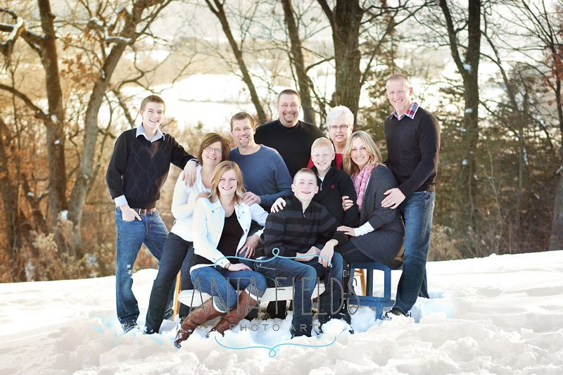 Family Photo Ideas For Winter