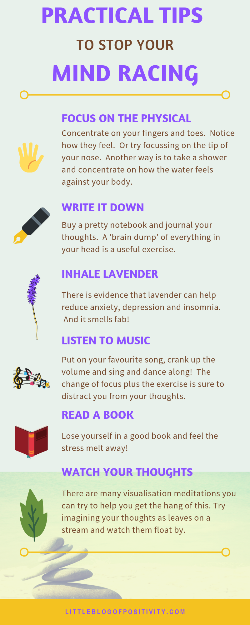 15 Practical Tips That Will Stop Your Mind Racing -