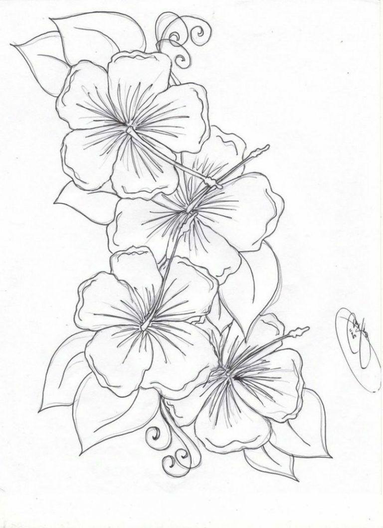 Blumenranken Tattoo 20 schöne Vorlagen für diverse ...