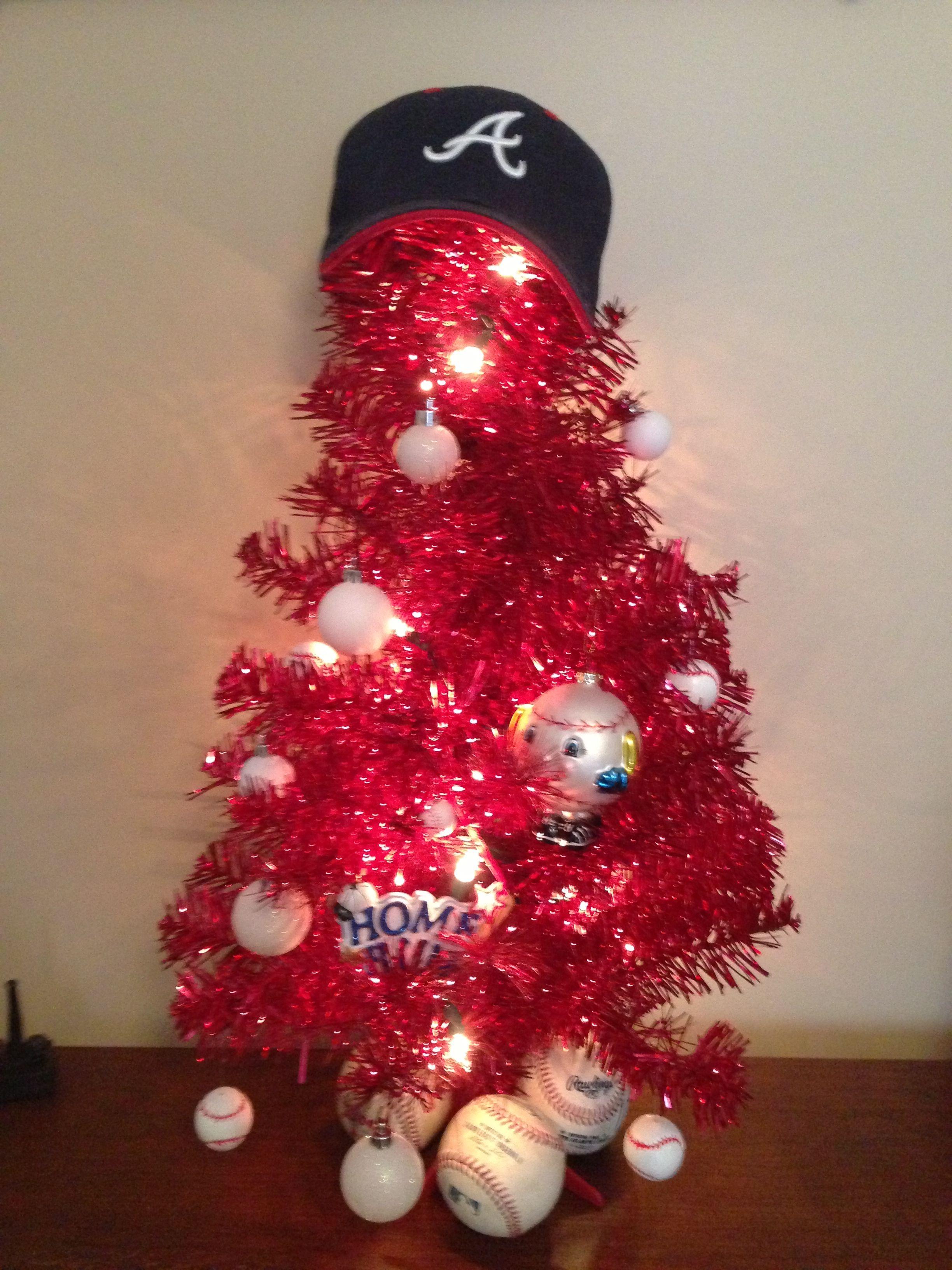 Baseball Christmas Tree Christmas Decorations Christmas
