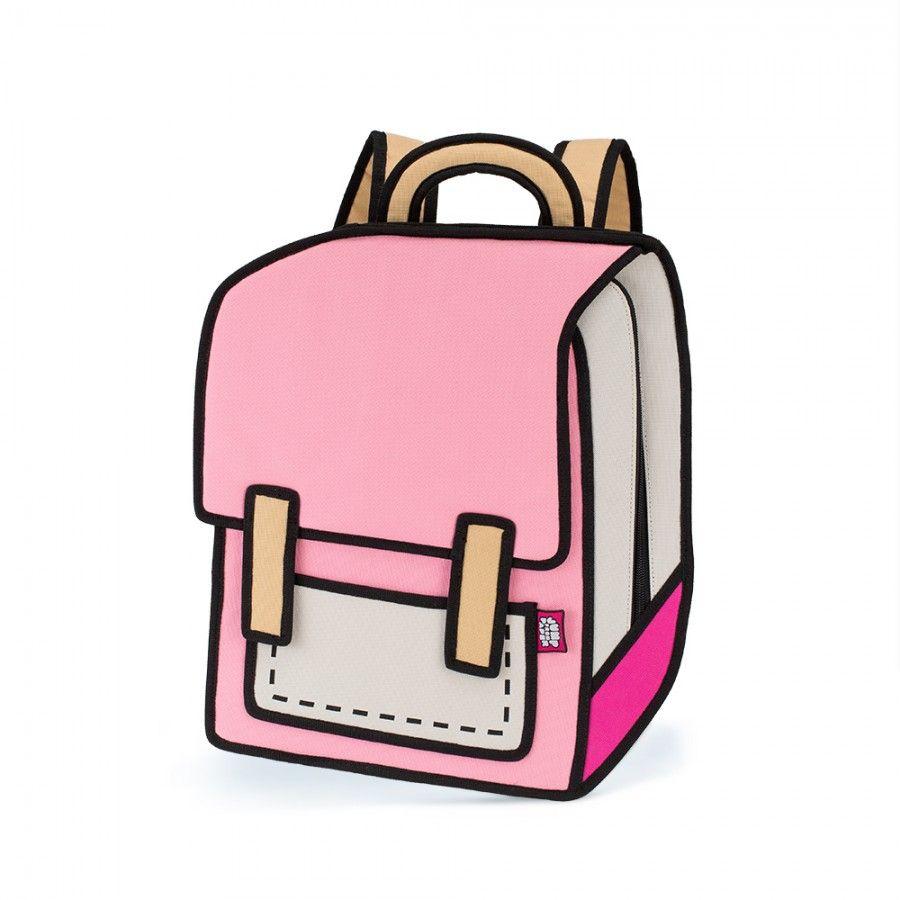 Handbags Look Like Cartoon Drawings 2d Bags Anime Bag Cartoon Bag
