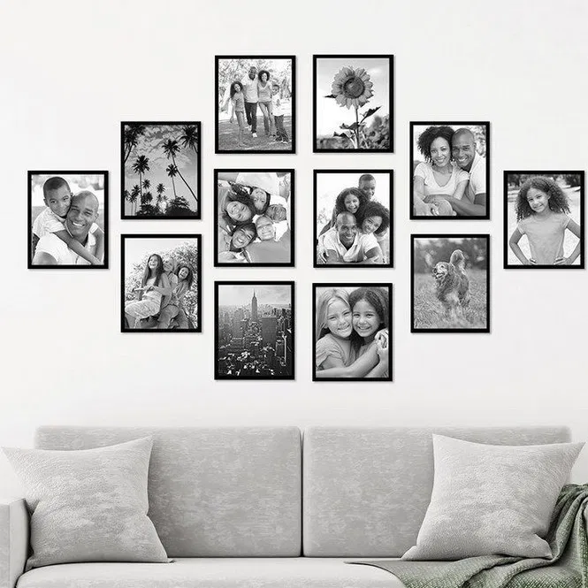125 Unique Family Picture Wall Ideas Page 19 My Home Decor Photo Wall Decor Family Wall Decor Picture Gallery Wall