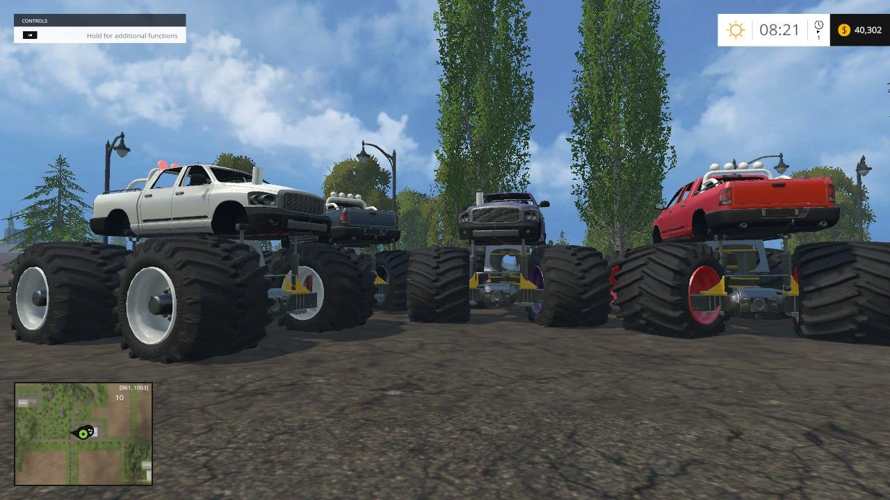 In Farming Simulator 15 it's easy to install mods  | muding