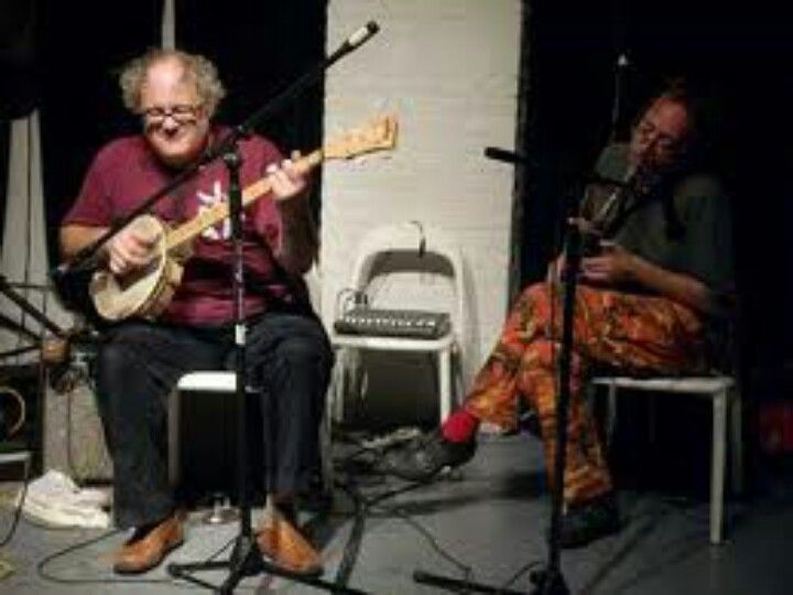 John Zorn and Eugene Chadbourne