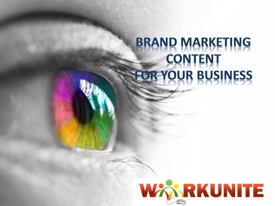 An entrepreneur needs a visual brand expert who can look