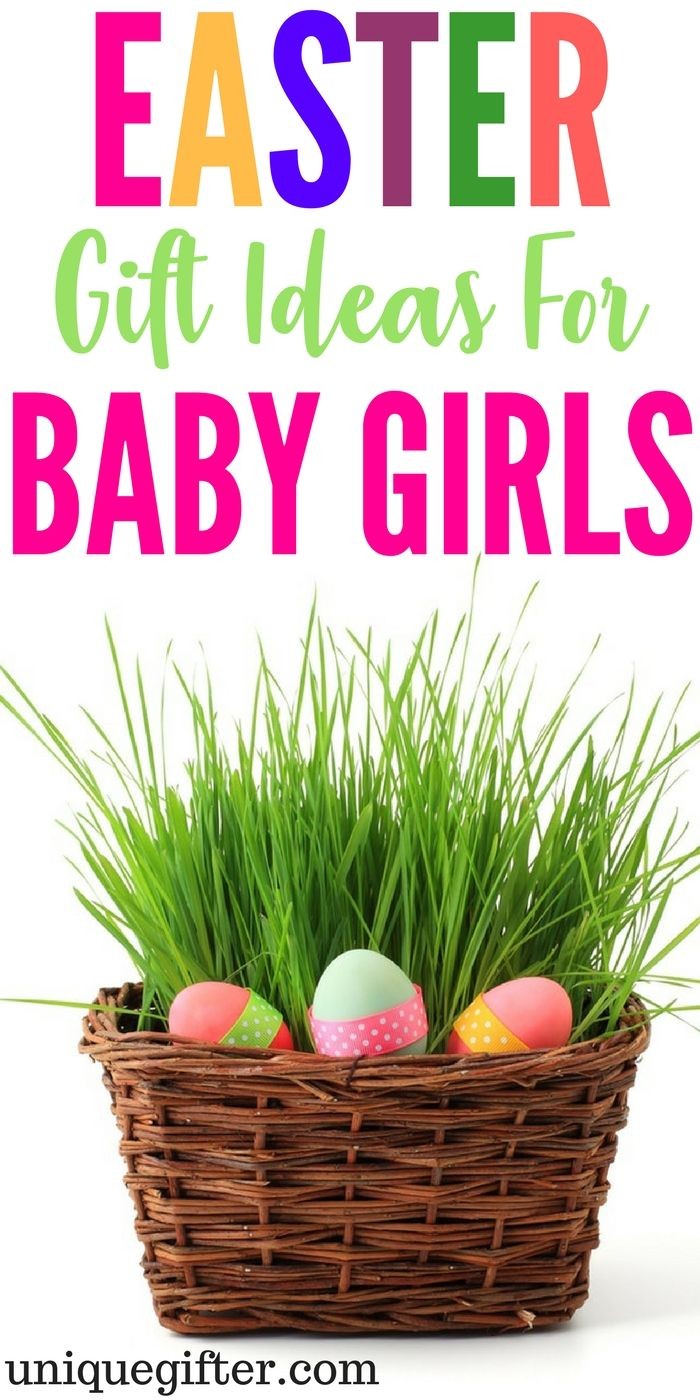 20 perfect easter gifts for baby girls easter negle Gallery