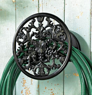 Vintage Style Wall Mounted Water Hose Hanger $7.99