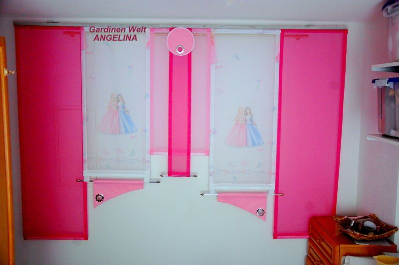 moderne schiebegardinen von gardinen welt angelina auf handarbeit. Black Bedroom Furniture Sets. Home Design Ideas