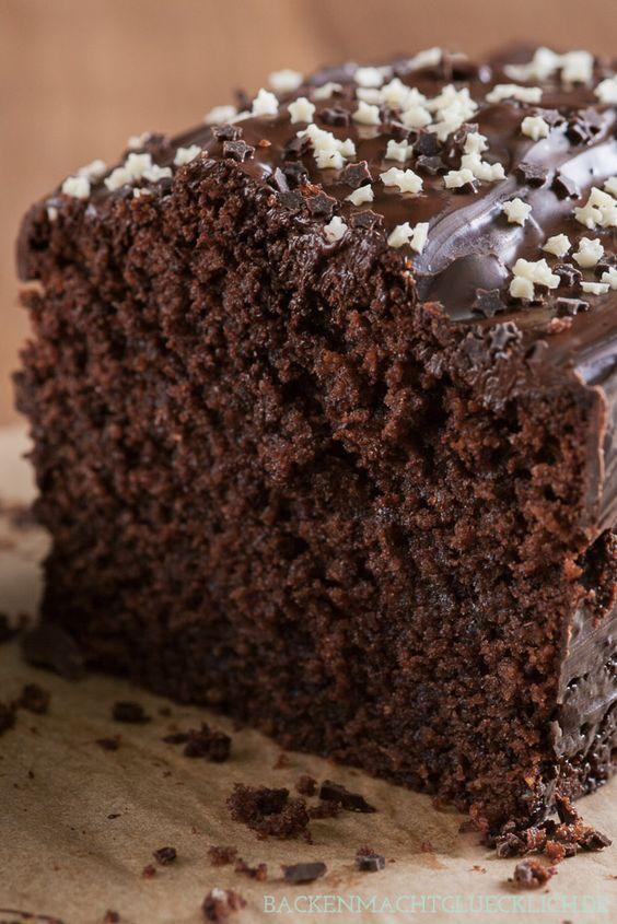 Der Beste Schokoladenkuchen Rezept Backen Pinterest Kuchen