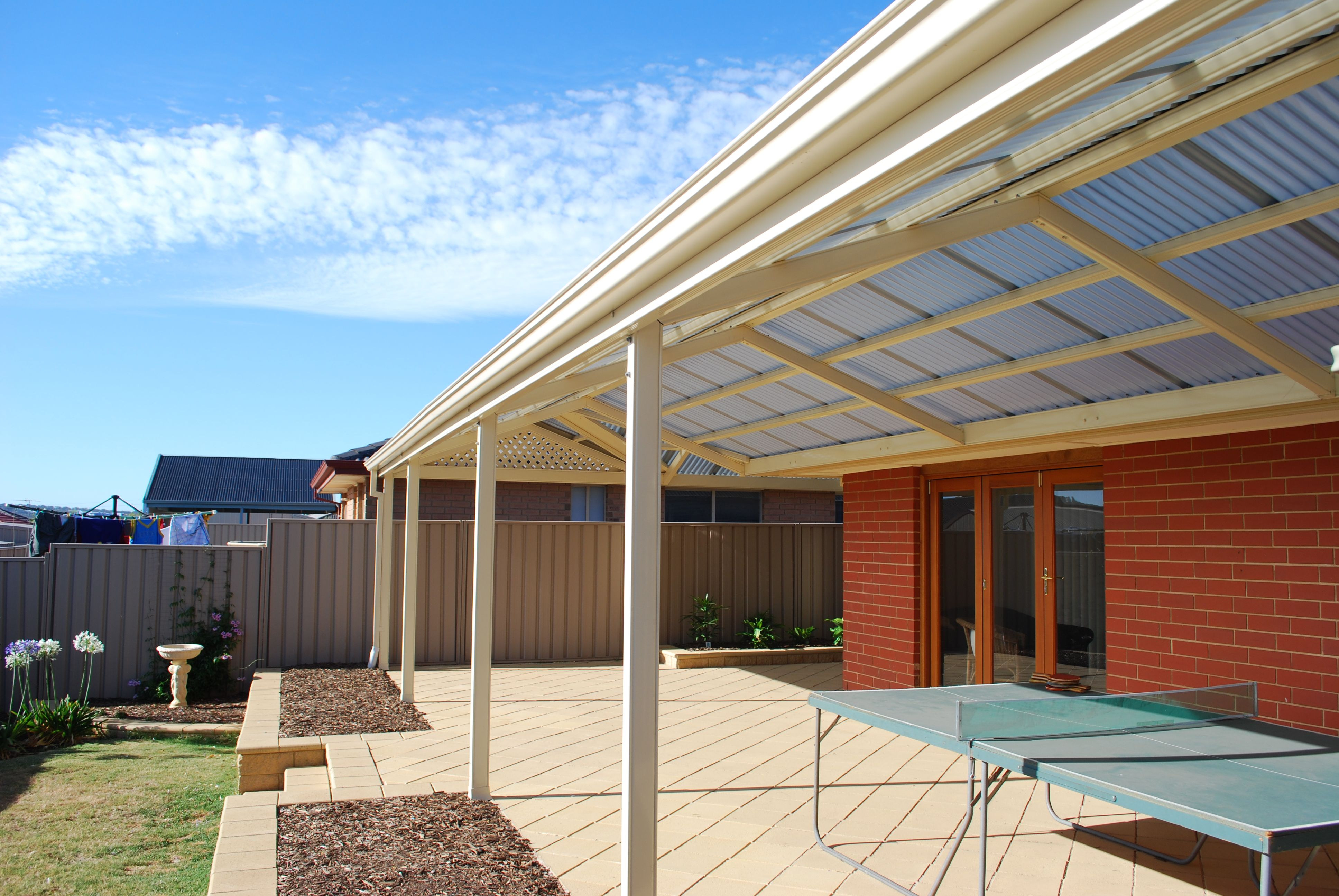 Colorbond roofing colours pictures to pin on pinterest - Polycarbonate Roofing Colorbond Steel Frame