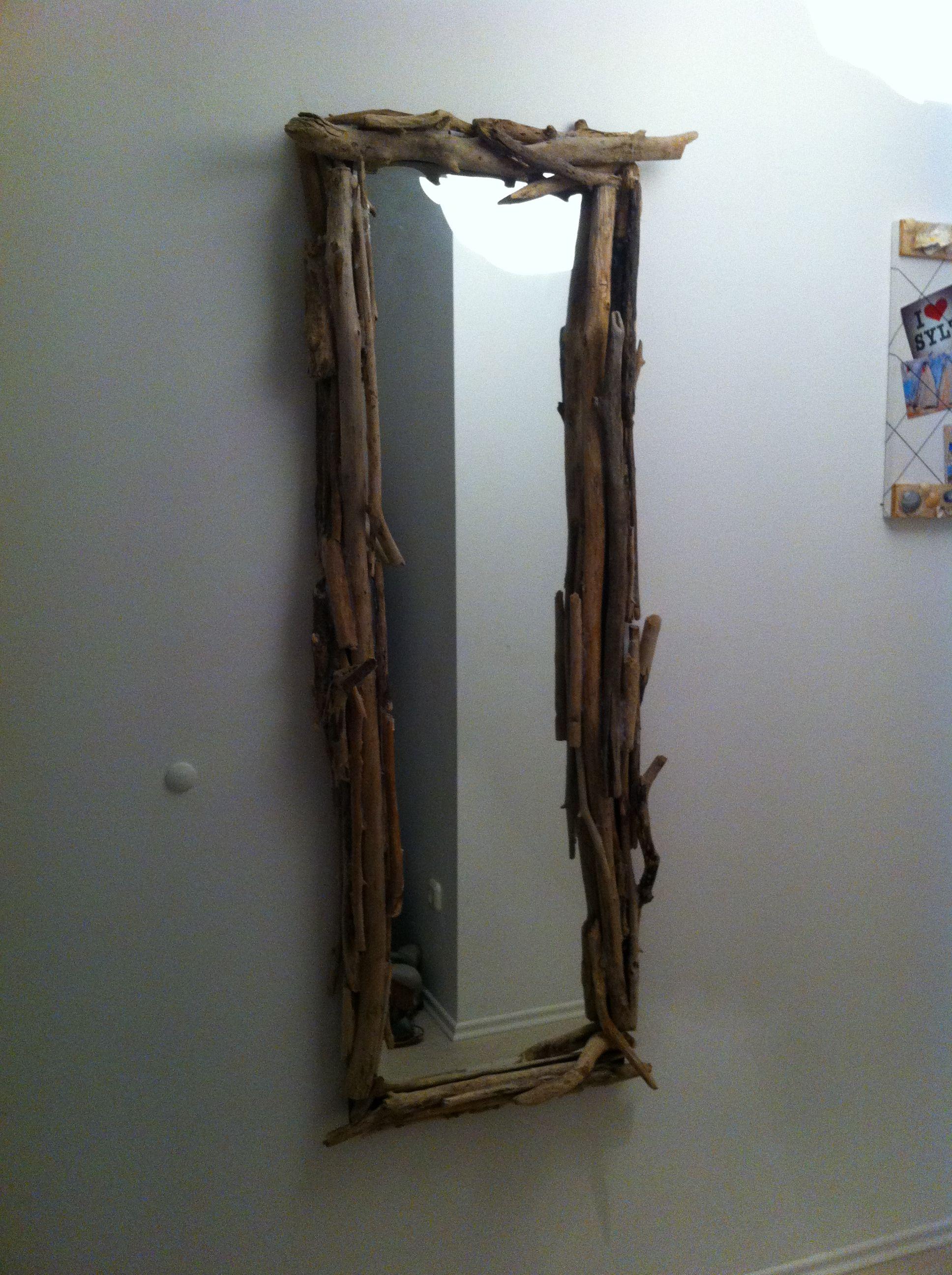 treibholz spiegel selfmade pinterest. Black Bedroom Furniture Sets. Home Design Ideas