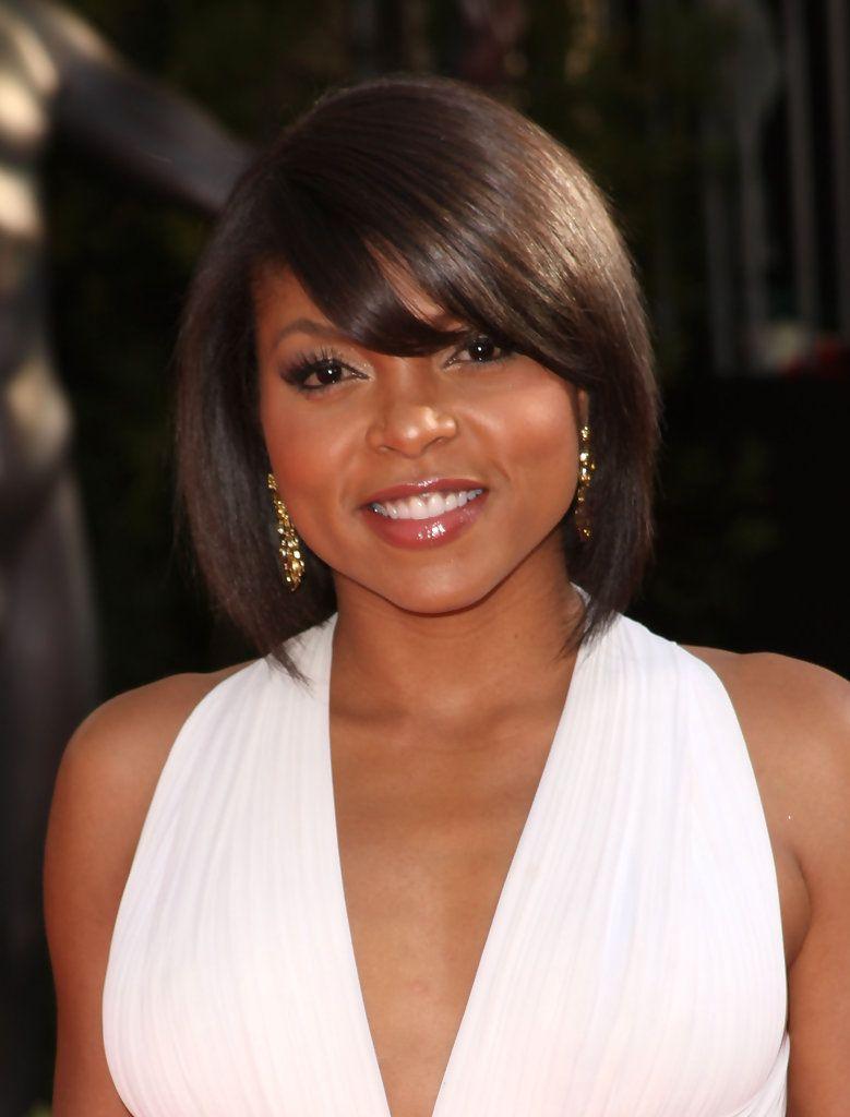 taraji p. henson bob   beautiful black women in 2019   long