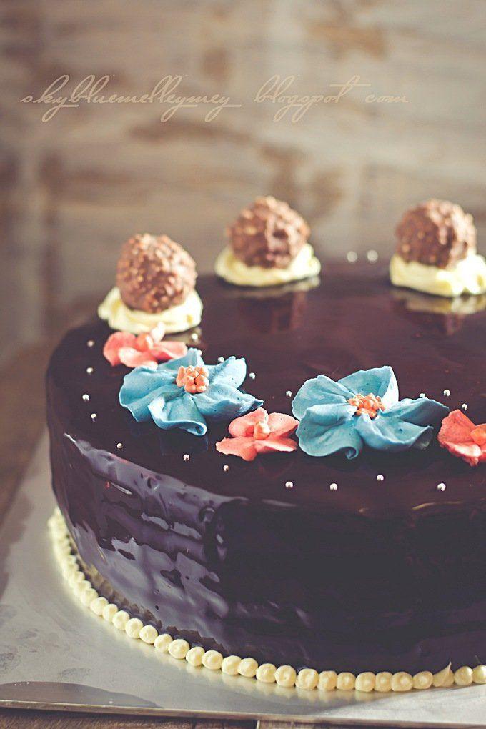Pelbagai Kek Coklat Eat Decorative Cakes Pinterest Dream Cake
