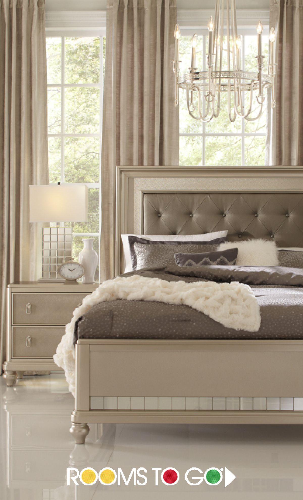 Elegant Luxurious Glamorous Champagne Bedroom Luxury Bedroom