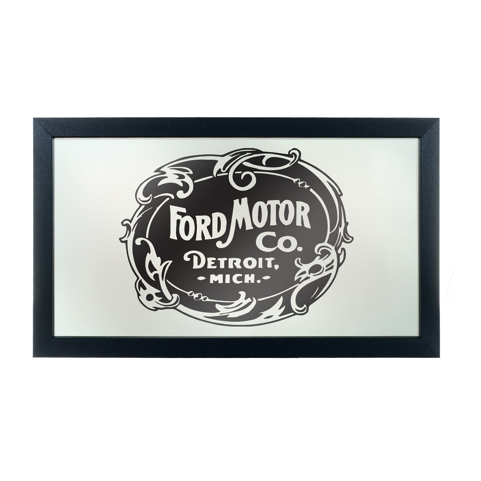Trademark Global Vintage 1903 Ford Motor Company Logo Wall Mirror