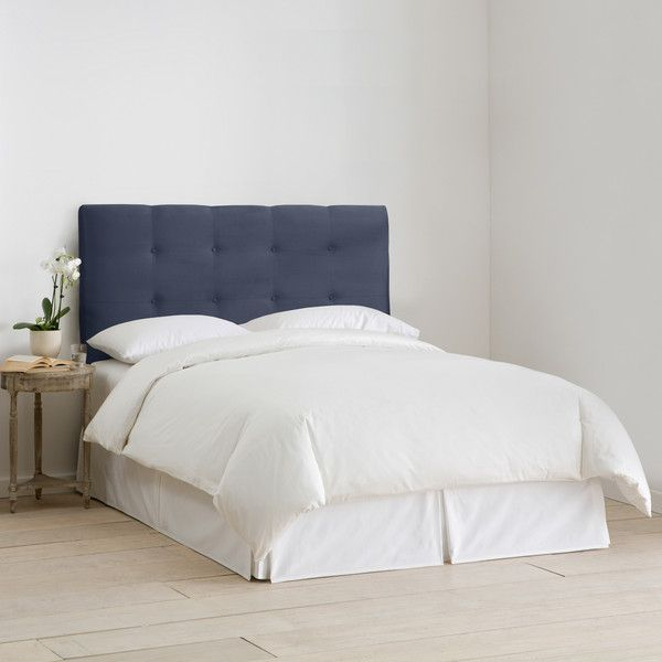 Skyline Furniture Upholstered Headboard In Micro Suede Lazuli Blue 295 Cad Liked