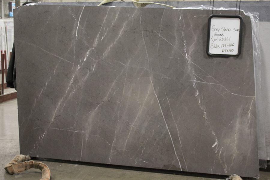 Superieur Grey Stone   Honed Kid Bathrooms, Bathroom Kids, Stone Countertops, Grey  Stone,