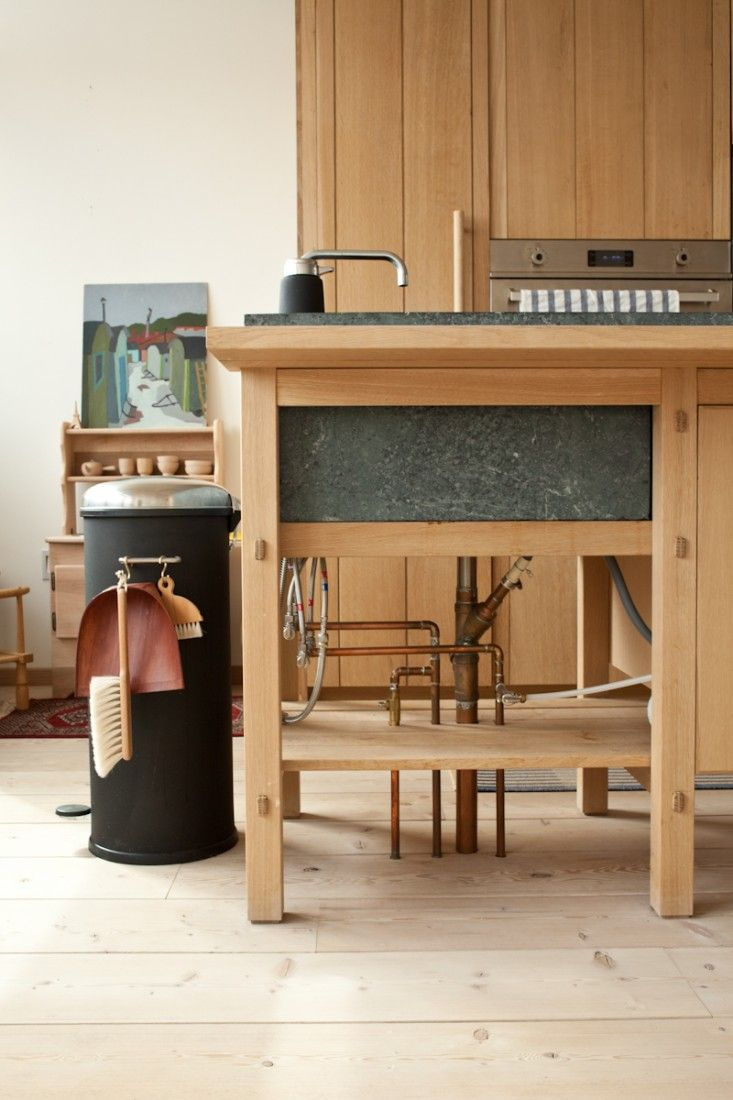 A Scandinavian Inspired Kitchen with Hints of Japan