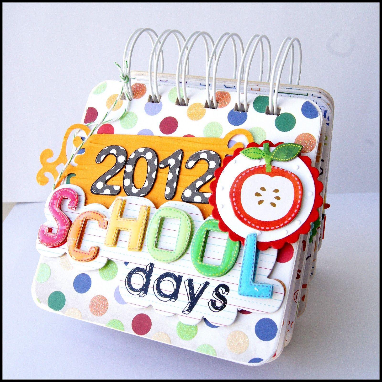 Calendar Ideas For Teachers : Great gift for a teacher desk calendar made with paper
