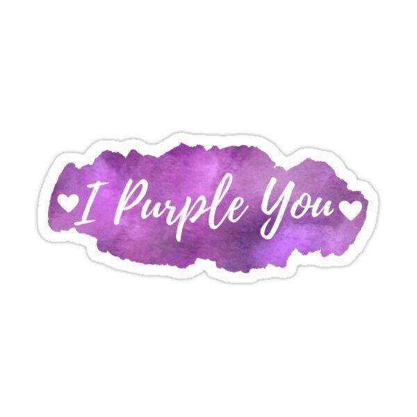 BTS I Purple You Sticker