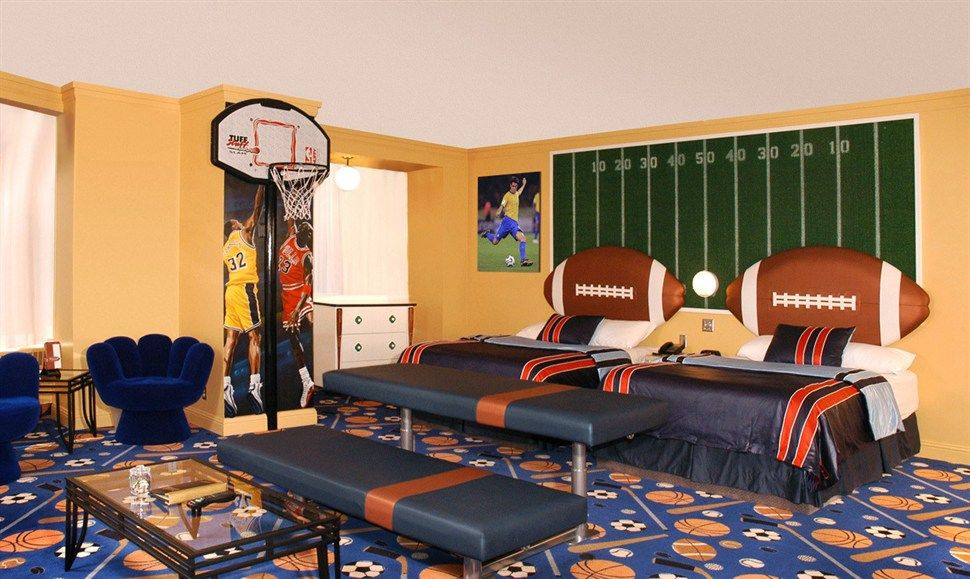 Sports Theme Fantasyland Hotel West Edmonton Mall