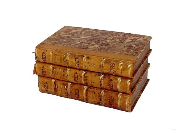 First Editions Alexandre Dumas 3 French by FrenchMarketFinds