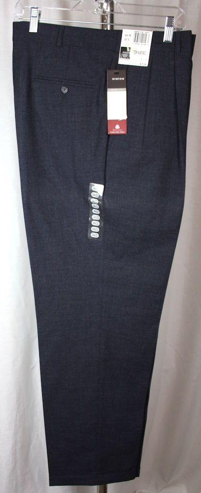 How To Hem Pants With A Cuff Slates Dockers Brand Mens 100 Grey Wool Pleat Front Cuff Hem Pants 34x32 Nwt Slatesadockersbrand Dresspleat How To Hem Pants Wool Slacks Well Dressed Men