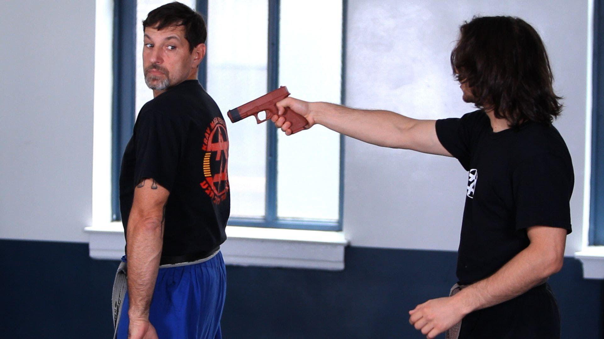 How to Defend against Gun from the Rear   Krav Maga Defense
