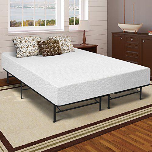 Best Price Mattress 12 Memory Foam Mattress And Bed Frame Set Queen