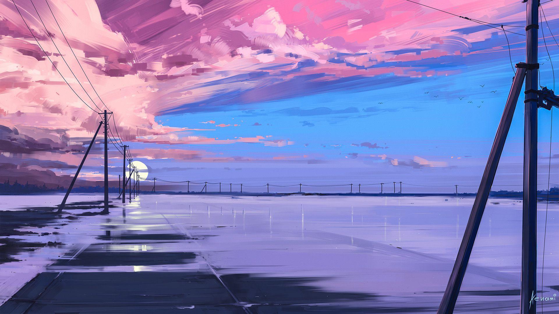 Endless By Alena Aenami 1920x1080 Desktop Wallpaper Art Scenery Wallpaper Anime Scenery Wallpaper