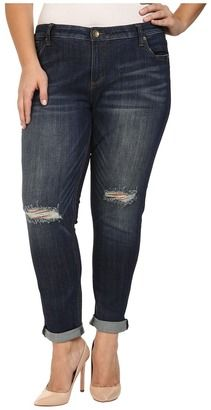 f9b369ace16 KUT from the Kloth - Plus Size Catherine Slouchy Boyfriend Jeans in  Commitment Women s Jeans  plus  jeans