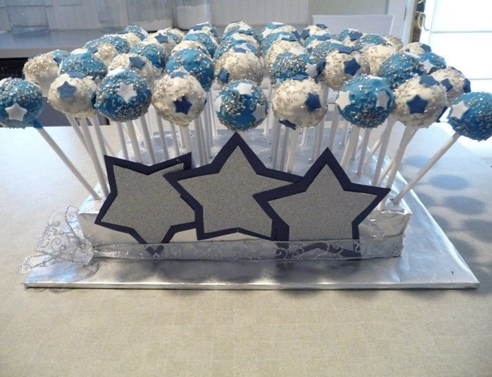 Baby Shower Gifts Dallas ~ Cake pops for dallas cowboy fan babyshower baby shower