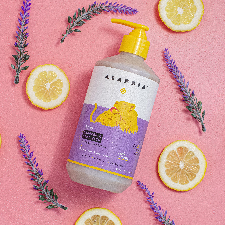 Kids Shampoo Body Wash Lemon Lavender Shampoo Body Wash Kids Shampoo Body Wash
