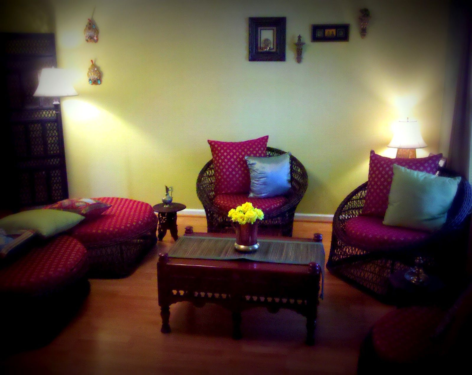 Ethenic Indian Home Interiors Pictures Low Budget
