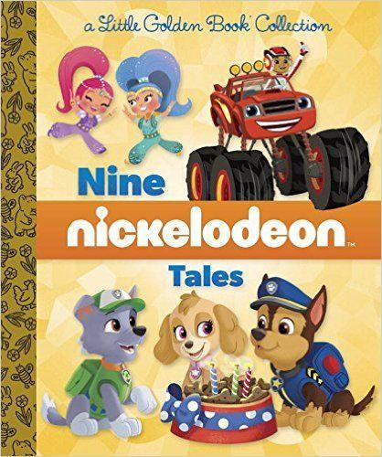 Nine Nickelodeon Tales (Nickelodeon) (Little Golden Book ...