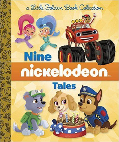Nine Nickelodeon Tales (Nickelodeon) (Little Golden Book Treasury ...
