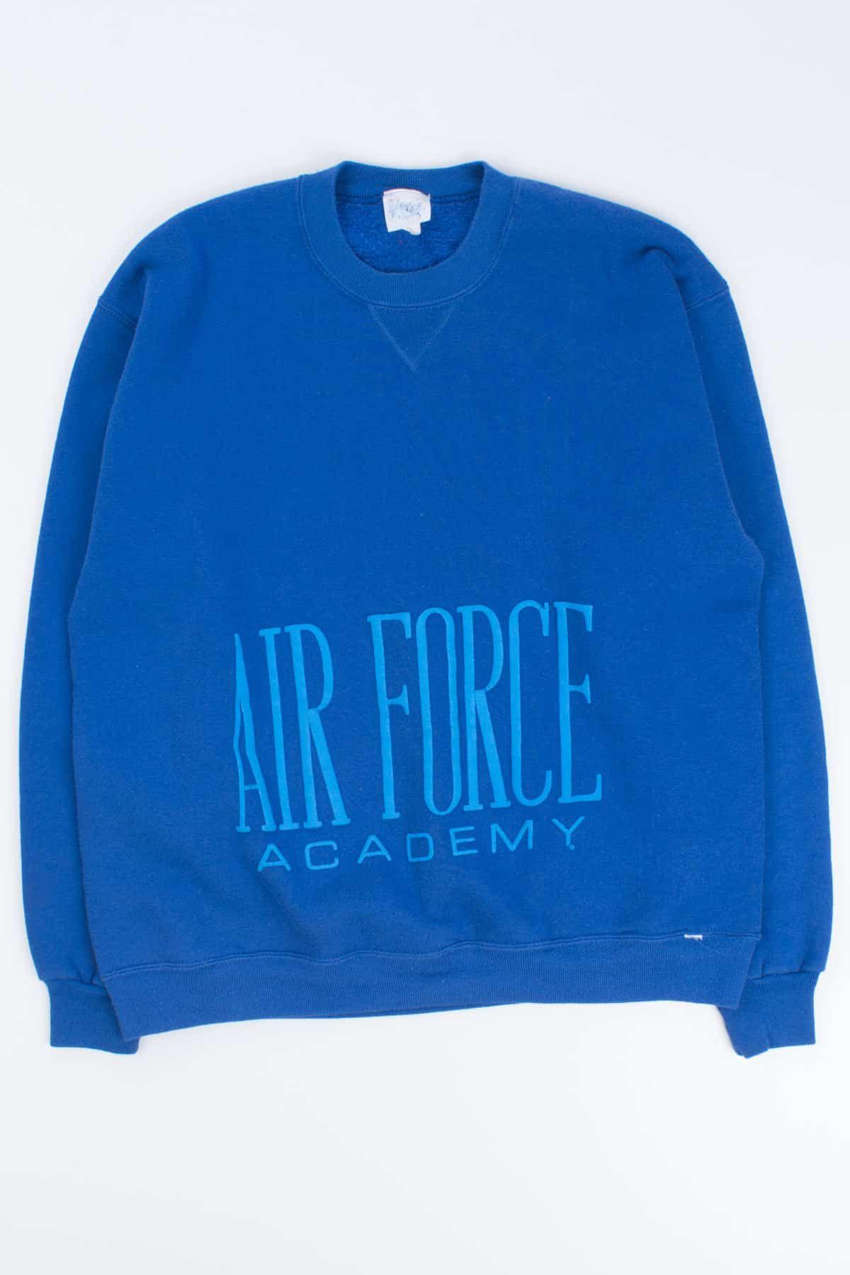 Vintage Air Force Academy Crewneck Sweatshirt Ragstock Crew Neck Sweatshirt Sweatshirts Air Force Academy [ 1800 x 1200 Pixel ]