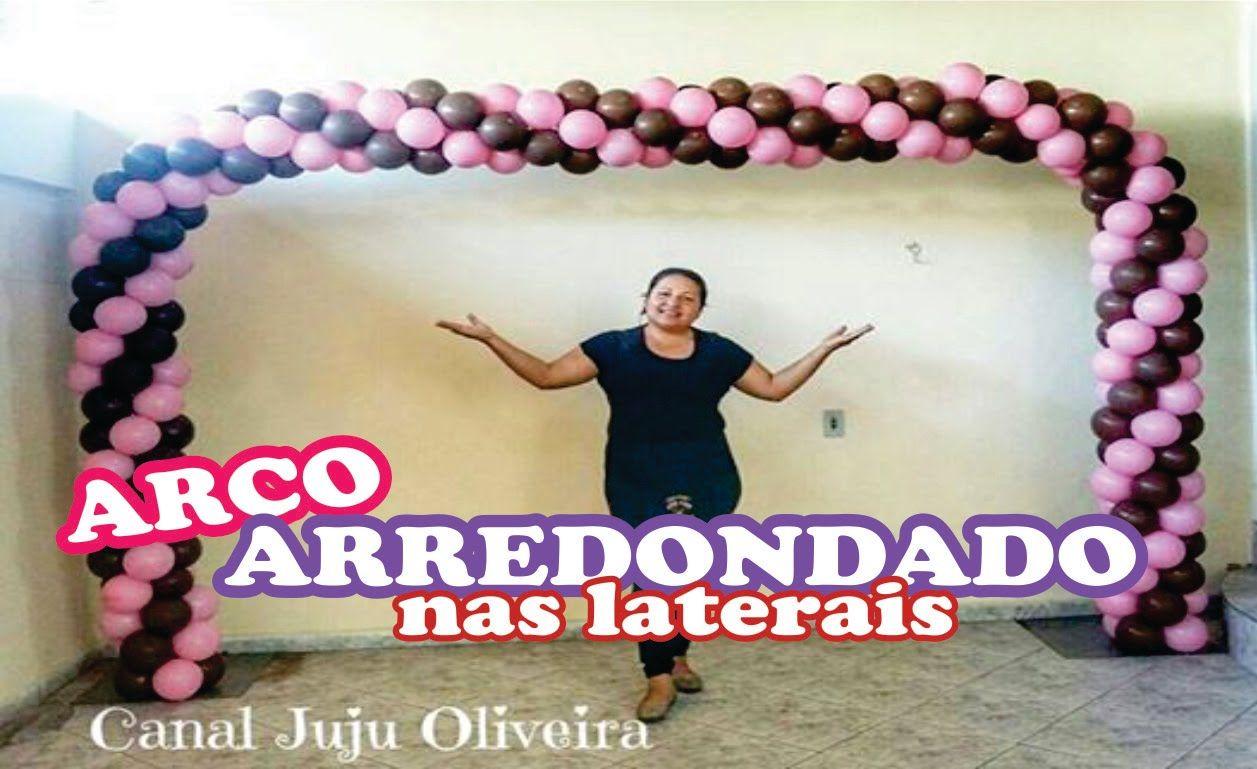 Arco Baloes Quadrado 2 Cores Montagem Completa Balloon Arch With