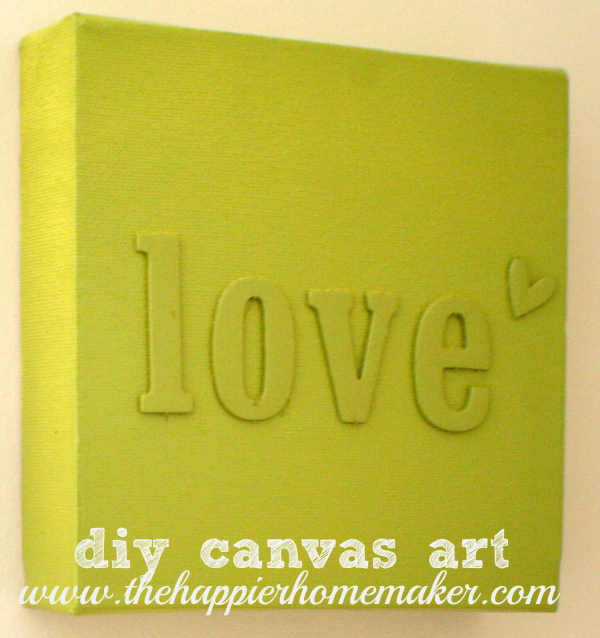 DIY Canvas Art | -♥- Decor: Wow Wall Art -♥- | Pinterest | Spray ...