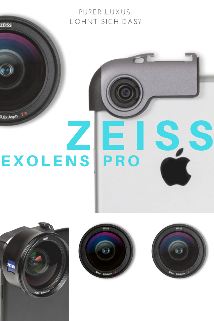 Zeiss ExoLens Pro Highend Monokel für das iPhone