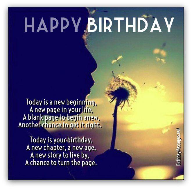 Inspirational Birthday Poems - Unique Poems for Birthdays ...