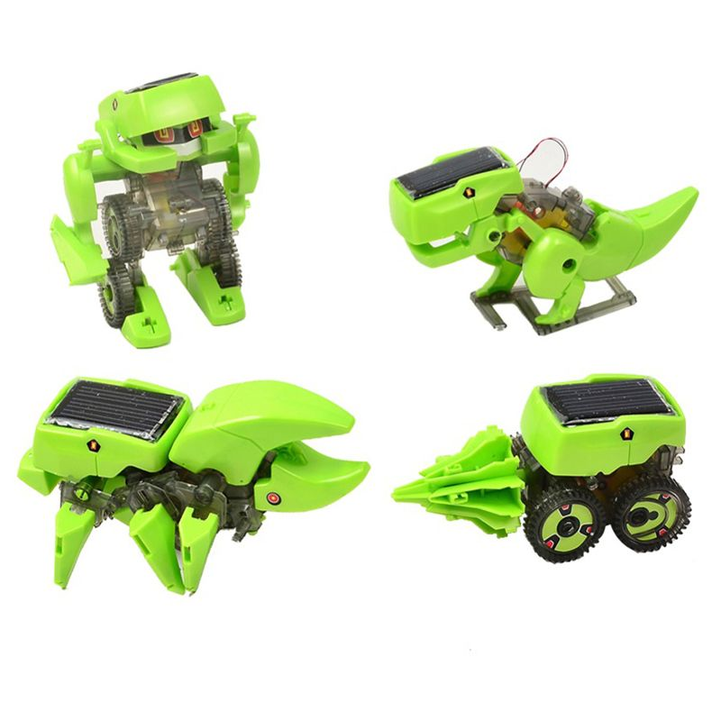 Solar Dinosaur Robot with DIY Assembly - Extremely Limited ...