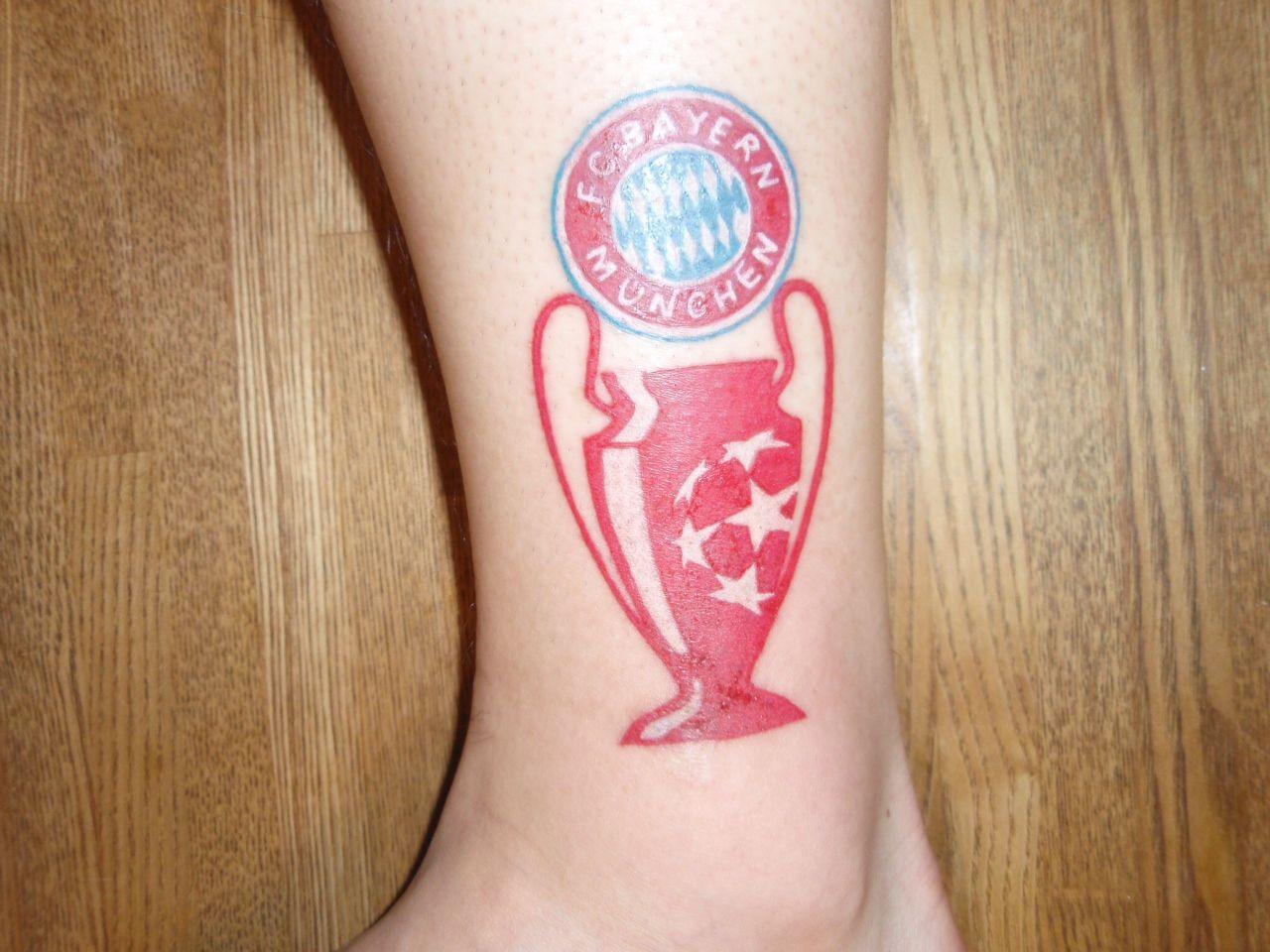 It's my tattoo! #fcbayern #tattoo