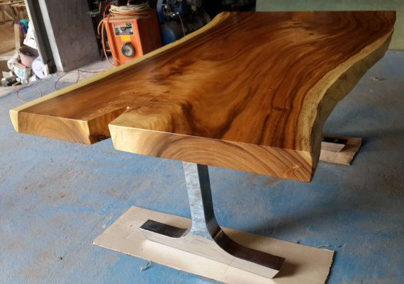 Dining Table Reclaimed Solid Slab Acacia Wood In A By Flowbkk, $6800.00